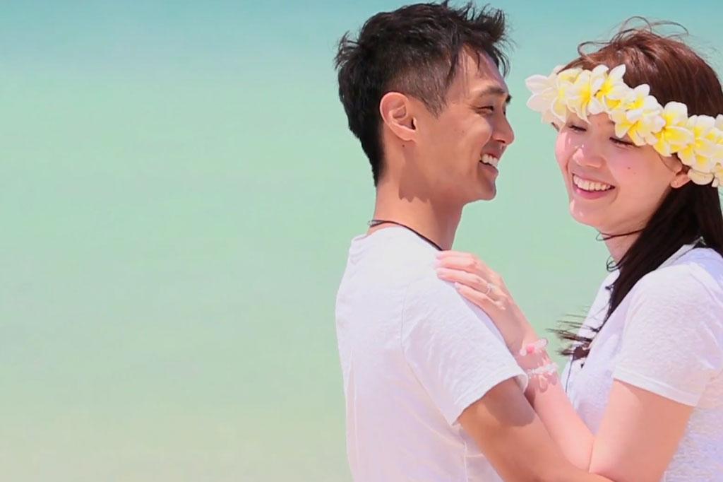 まるでドラマ!ハワイでサプライズプロポーズ