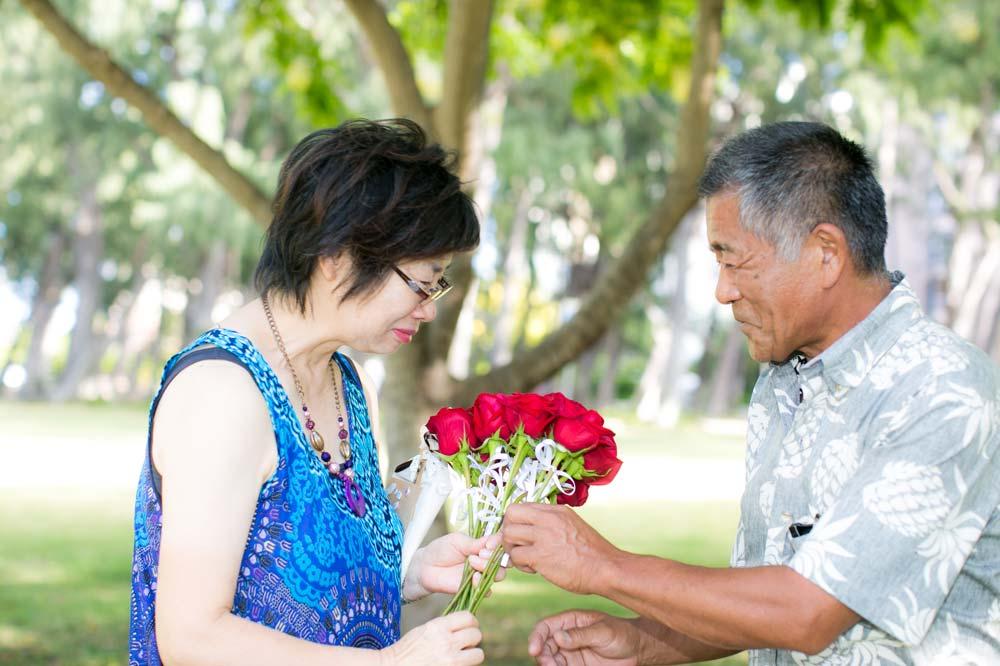 ハワイのサプライズには人を感動させる力があります
