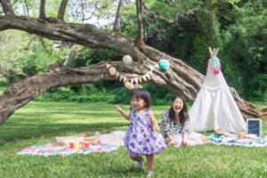 子供が喜ぶガーデンパーティ